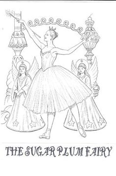 33 Best Coloring Pages for Young Dancers images