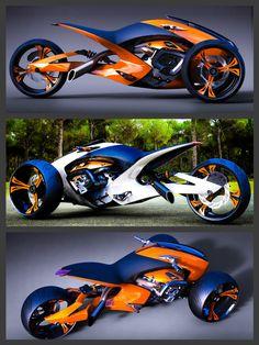 Projeto Concept Trike, designed by Konstantin Laskov, Sofia, Bulgaria.    http://behance.net/gallery/18535359/TRIKE-DESIGN