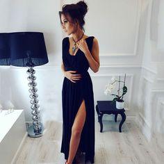 Осень Для женщин Платья для женщин осень 2017 г. Лето Украина пол Длина Винтаж Макси партия пляжное платье Красный, черный, синий цвет в богемном стиле длинное платье