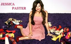 Jessica Paster of JustFab.  Look at all those yummy shoes!