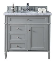 Create Photo Gallery For Website  Brittany Single Bathroom Vanity Urban Gray