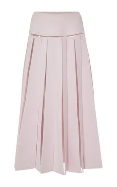 Carolina Herrera Illusion Seam Skirt