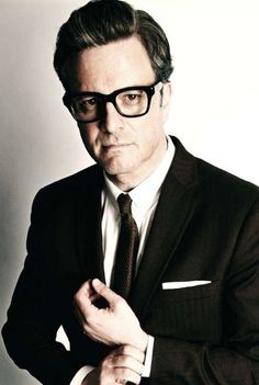 """Colin Firth as a """"Single Man"""" looks a lot like Ira Glass, another favorite of mine."""