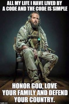 Special Forces soldier with full tactical kit complete with war beard and tomahawk