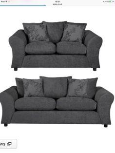 Buy Argos Home Clara Fabric 3 Seat & Compact 2 Seat Sofa - Mink at Argos. Living Room Sofa, Living Room Furniture, Living Room Decor, Cosy Sofa, Hygge Home, 2 Seater Sofa, Fabric Sofa, Sofas, Love Seat