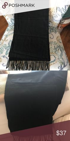 Uni-Sex Cashmere Scarf. Uni-Sex Cashmere Scarf. NO TAGS! Since I cannot prove this is 100% cashmere, I will discount the price. It belonged to my dad who only bought high-quality items. Accessories Scarves