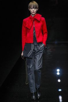 Emporio Armani Fall 2017 Ready-to-Wear Collection Photos - Vogue