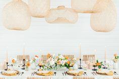 La Tavola Fine Linen Rental: Claire Vanilla | Photography: Allison Jeffers Photography, Planning & Design: Sweet Laurel Events, Florals: Reiley & Rose, Venue: Mae's Ridge, Rentals: Loot Rentals, Paper Goods: Peach Paper Designs