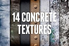 Concrete and Cement Textures Pack 2 by Design Panoply on Creative Market