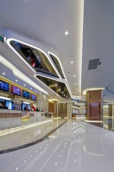 Cinema interior design for Palace Cinemas at Sincere Plaza, Chongqing, China