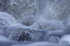 vízesés tél víz