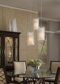 Liza Grande Pendant by Tech Lighting is classically modern. Ideal for dining room lighting. Hallway Lighting, Dining Room Lighting, Dining Rooms, Dining Area, Bronze, Rooms Home Decor, Room Decor, Glass Diffuser, Black Lamps