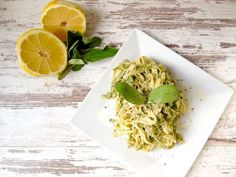 Tagliatelle mit Salbei und Zitrone Avocado Toast, Cabbage, Lime, Pasta, Food And Drink, Mini Me, Dining, Vegetables, Cooking