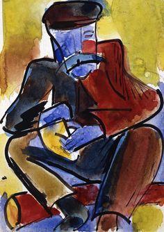 (65) karl schmidt rottluff | Tumblr Emil Nolde, August Macke, Kandinsky, Dresden, Van Gogh, Karl Schmidt Rottluff, Degenerate Art, Ernst Ludwig Kirchner, Avant Garde Artists