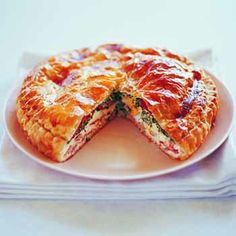 Best ever bacon & egg pie