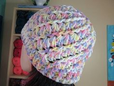 Crochet easy hat for adults - with Ruby Stedman - YouTube