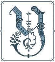 Gothic Alphabet Y