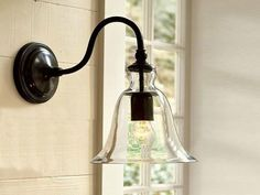 Industrial Glass Wall Lamp Retro