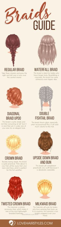 Magnificent Braided Hairstyles for Spring 2017: Easy, Messy and Sleek Braids ★ See more: lovehairstyles.co… The post Braided Hairstyles for Spring 2017: Easy, Messy and Sleek Braids â ..