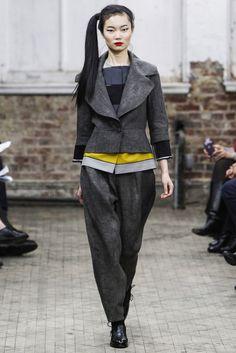 @Yeohlee #catwalk #NewYork #pretaporter #FW #2013_14 #trends #baggy #in