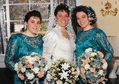 Chic Vintage Brides, Vintage Weddings, Vintage Bridal, Beautiful Wedding Gowns, Three Sisters, Bridesmaid Dresses, Wedding Dresses, Bridal Fashion, Dream Dress