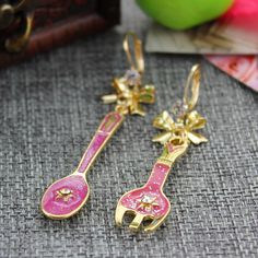 """Find More Stud Earrings Information about Fashion stud earrings 2014 Fashion new pure and fresh quietly elegant contracted tableware series of women's earrings, 121021,High Quality earings big,China tableware box Suppliers, Cheap earring frame from The original """"decorated"""" You on Aliexpress.com"""