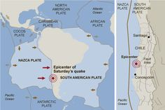 South American Plate | Geology The Nazca plate is sliding beneath the South American plate ...