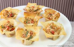 spicy chicken cup party appetizers