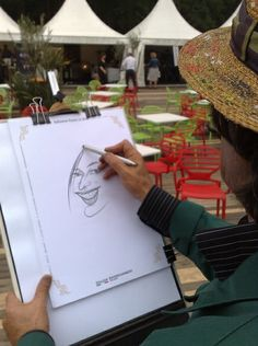Marco Bezano Karikatuurtekenaar 05 by Italian Entertainment And More, via Flickr