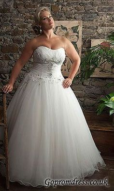 Ball Gown Wedding Dresses Plus Size Dress Bridal