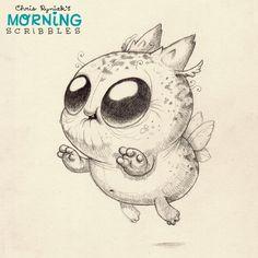 Bzzz Bzzzz Bzzzzzz... #morningscribbles | 출처: CHRIS RYNIAK