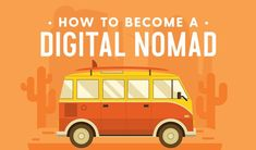 This digital nomad lifestyle allows for both work and the opportunity to travel. Is it the perfect life? Learn more here! Inbound Marketing, Content Marketing, Branding, How To Stop Procrastinating, Article Design, Illustrator Tutorials, Digital Nomad, How To Better Yourself, Website Template