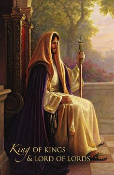 Jesus Christ King Of Kings -Greg Olsen King Jesus, Jesus Is Lord, Jesus Help, Croix Christ, Greg Olsen Art, Munier, Pictures Of Jesus Christ, Bible Pictures, Religion