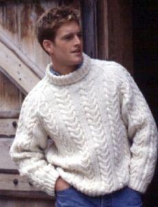 Ribs & Cables (for men) | Yarn | Free Knitting Patterns | Crochet Patterns | Yarnspirations