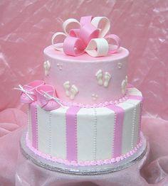 Baby Booties Baby Shower cake
