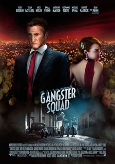 Gangster Squad - Sean Penn as Mickey Cohen and Emma Stone as Grace Faraday…