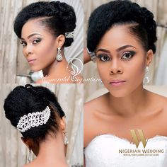 Adeola's Wedding Day Makeover By Emerald Signatures  - Nigeria: Nigerian Wedding's Blog