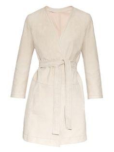 Ustica suede coat | Max Mara Studio | MATCHESFASHION.COM