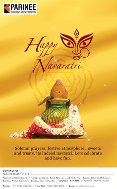 Parinee Realty wishes you all a very Happy Navratri www.parinee.com #Navratri2016 #Occasion #Festival #Celebration