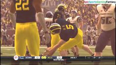 The Connecticut Huskies VS The Michigan Wolverines In A NCAA Football 10 Football Match This video showcases Gameplay of The Connecticut Huskies VS The Michigan Wolverines In A NCAA Football 10 Football Match
