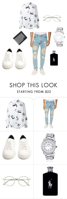"""""""Untitled #18"""" by look-like-good ❤ liked on Polyvore featuring Kenzo, MSGM, Givenchy, EyeBuyDirect.com, Ralph Lauren, Vans, men's fashion and menswear"""
