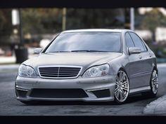 Mercedes S W220 FRONTSTANGE HECK STOßSTANGE SEITENSCHWELLER  AMG LOOK BODYKIT
