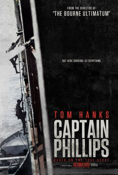 """""""Captain Phillips"""" com Tom Hanks ganha dois cartazes http://cinemabh.com/imagens/captain-phillips-com-tom-hanks-ganha-dois-cartazes"""