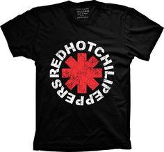 Camiseta Red Hot Chili Peppers - Use Camisetas - A sua loja de Camisetas Criativas e Inteligentes