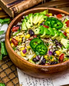 Super easy to make, this flavorful Tex-Mex Rice Salad is a wholesome twist and packed with nourishing plant powerhouse goodness. Lunch Recipes, Whole Food Recipes, Vegan Recipes, Vegan Party Food, Rice Salad, Salad Ingredients, Tex Mex, Vegan Gluten Free, Super Easy