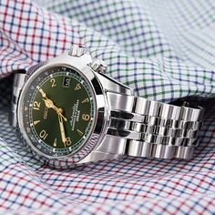 #MiLTAT Angus Jubilee for Seiko Alpinist SARB017 was just restocked on our website www.strapcode.com #strapcode #iwantstrapcode