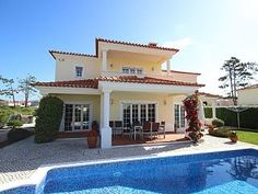 Luxury modern villa,south face garden & pool on 5 * Golf & Beach ResortHoliday Rental in Praia del Rey from @HomeAwayUK #holiday #rental #travel #homeaway