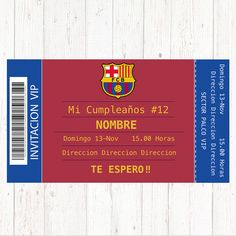 Invitación BARCELONA tarjeta cumpleaños . . #barcelona #tarjeta #invitacion #fiesta #cumple #cumpleaños #barcelonacumpleaños #barcelonainvitacion #barcelonatarjeta Barcelona Soccer Party, Soccer Birthday Parties, Soccer Theme, We Can Do It, Birthday Party Invitations, No Time For Me, First Birthdays, Party Themes, How To Apply