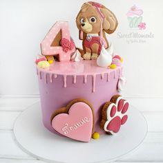 Тортик Щенячий патруль #Скай #SMyulialapa #пряникиюлиилапы #тортыюлиилапы #тортыотлары #пряникиотлапы #лапачернигов #кондитерлапачернигов #sweetmomentsbyYulialapa Girls Paw Patrol Cake, Paw Patrol Birthday Cake, Torta Paw Patrol, Paw Patrol Cake Toppers, Bolo Laura, Bolo Da Peppa Pig, Flamingo Cake, Cake Topper Tutorial, Cookie Icing