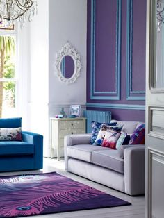 Beautiful Jewel Toned Living Room I Know Its A Living Room But Awesome  Bedroom Idea